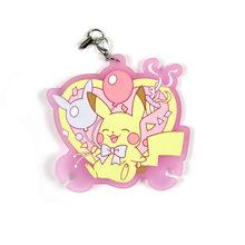 Pikachu Original Japonês anime figura cheiro doce de borracha de Silicone do telefone móvel encantos cinta keychain(China)