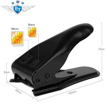 Dual 2 in 1 Micro Sim Cutter for iPhone 5 4s 4 Nano SIM Card SIM Adapter for Samsung Galaxy Regular Sim free shipping(China (Mainland))