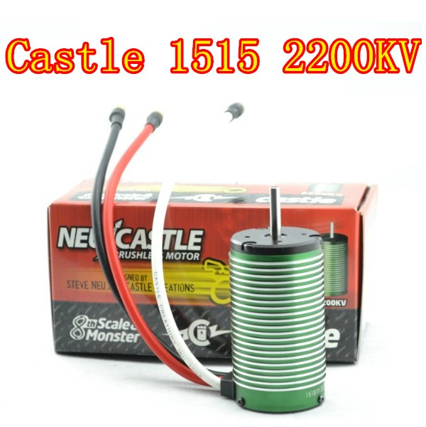 Castle Creations Neu 1515 2200kv Brushless Motor, 1/8 1/10 RC Car