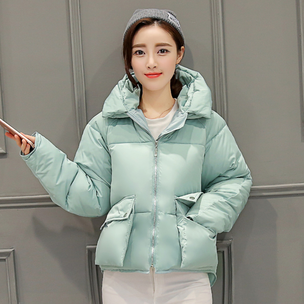 New Arrival Ladies Fashion Coat Winter Jacket Outerwear Short Wadded Jacket Female Padded Parka Overcoat Women(China (Mainland))