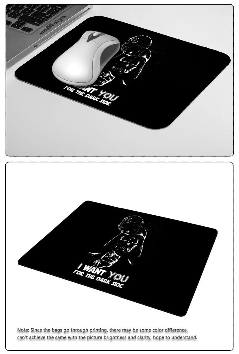 Darth, Vader, Mask, Star Wars  Mouse Pad Gift Mat Non-Skid Rubber Pad