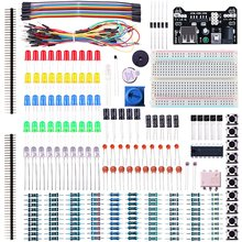 Buy Electronic Fun Kit Arduino Bundle Breadboard Cable Resistor Capacitor LEDs for $16.34 in AliExpress store
