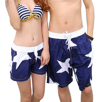 New 2016 Shorts Men Summer Beach Shorts Flower Plaid Stripe Star Many styles Couple Surf Swimsuit Sport Wear Causal Tracksuit