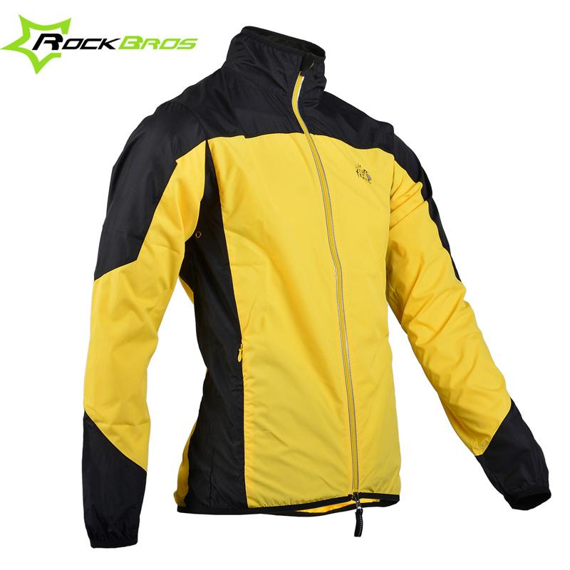 ROCKBROS Breathable Bike Bicycle Cycling Cycle Rainproof Rain Coat Raincoat Wind Coat Windcoat Jersey Windproof Quick Dry Jacket(China (Mainland))