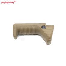 Ao ar livre cs sport jinming8 gen8 modificado acessório 8cm náilon triângulo cobra guarda aperto dianteiro madeira versão atualizada osso de peixe la21(China)