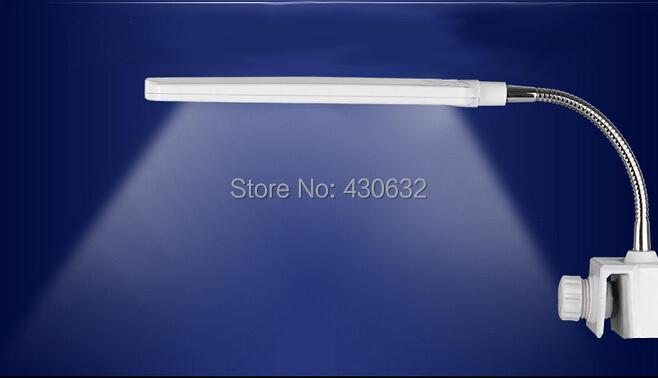 Купить 2.5 Вт 48LED AC110-220V аквариума свет лампы и гибкие клип на аквариум лампы, Сша подключите / ес разъем