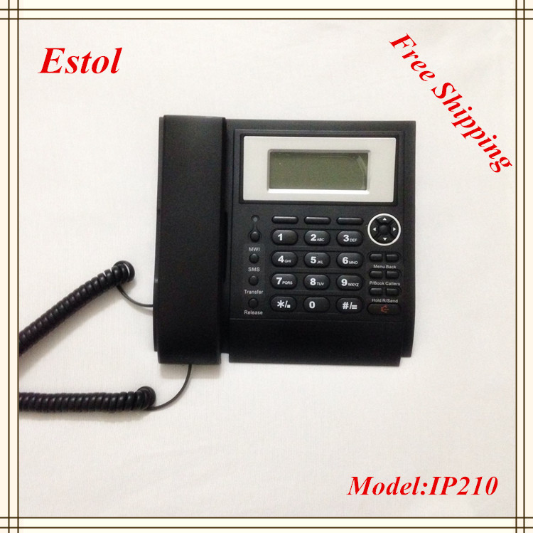 Free Shipping 2 Sip line VoIP IP Phone,IAX2 account, Asterisk elastix compatible,SIP Phone(China (Mainland))