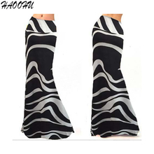 2016 Autumn New Women Nightclub skirts vestidos Sexy Striped High Waist Package Hip Maxi long skirts vestidos 9201 DX