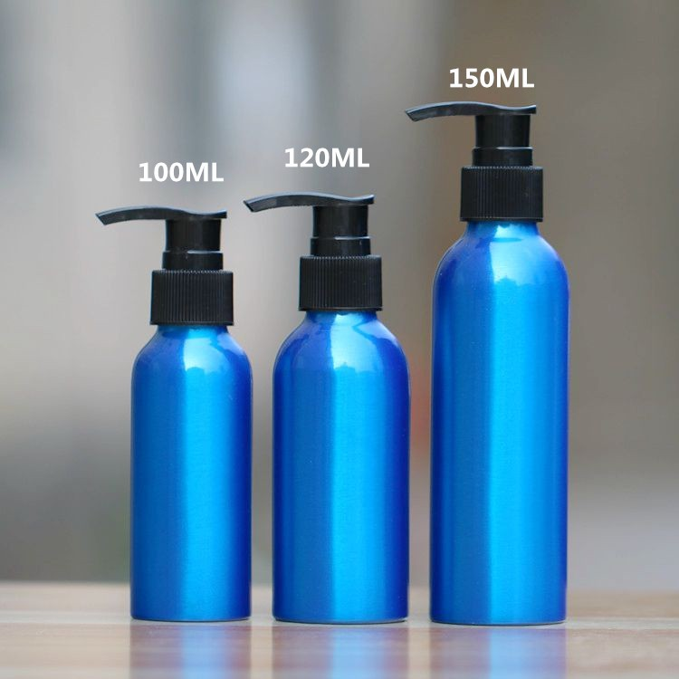 2019 Wholesale 1 30 500ml Blue Aluminum Empty Lotion