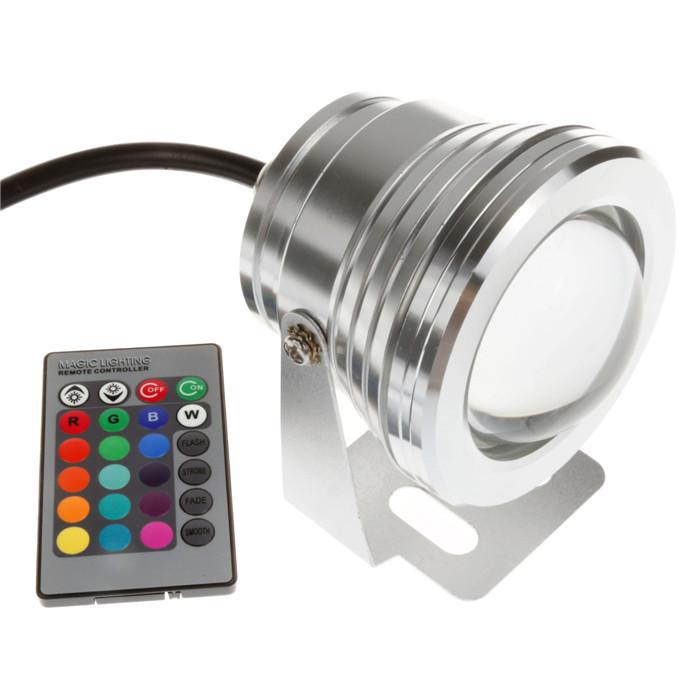 Подводное освещение SUNSBELL 10W 12V RGB IP68 16 Remote L0147-03