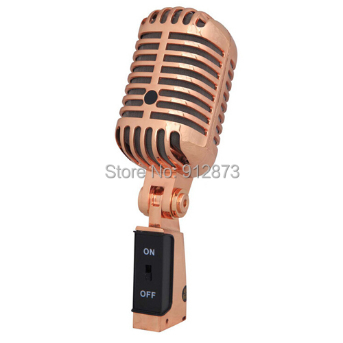 Free shipping Professional Dynamic Microphone Classic Vocal Mic Studio Record Old Style Microphon(China (Mainland))