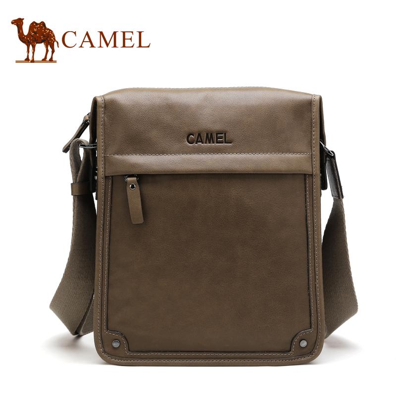 Camel 100% Genuine Leather Men Messenger Bags Big Promotion Genuine Leather Shoulder Bags Men Handbags Brand Casual Briefcase(China (Mainland))