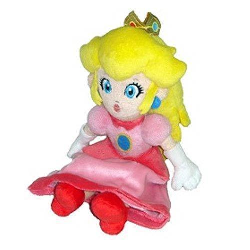Принцесса Персик Плюшевые 8in Новый Nintendo Super Mario Bros Sanei Игрушки Куклы Розовый