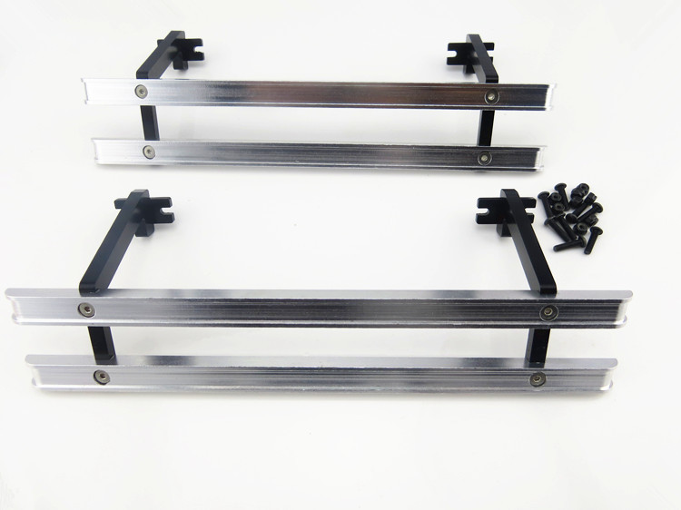 1/14 Mercedes-Benz 1850L Series pallet trucks Maersk Container Tank Tamiya metal bull side bar - Amateur model store