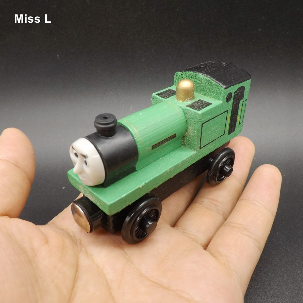 Wooden Magnetic Train Toys Wood Car Engine Vehicle Game Mind Kid Gift(China (Mainland))