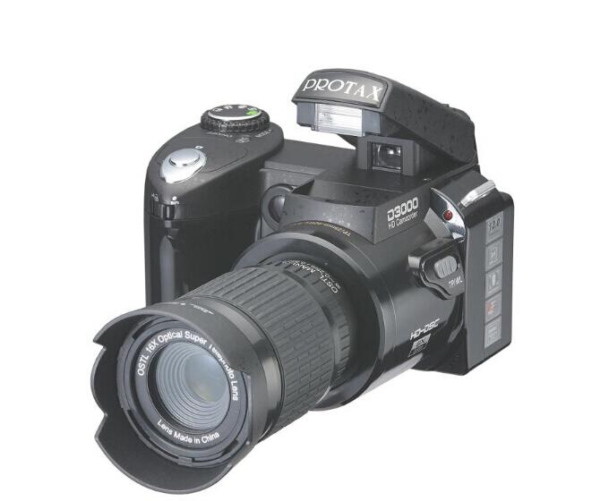 Цифровая фотокамера 5 HD D3000 16.0mp 3,0 TFT SLR HD D3000 CAMERA профессиональная цифровая slr камера nikon d3200 18 55mmvr