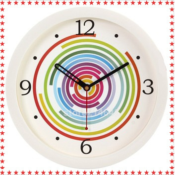 j26 8inch fashion modern colors clock