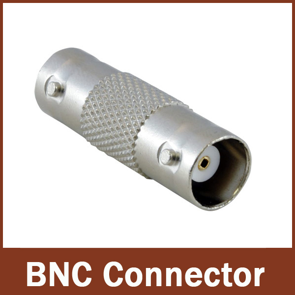 10 pcs- BNC CCTV Coax Coaxial Cable Coupler Adapter Connector Female RG59(China (Mainland))