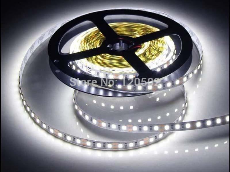 12V 120LED/m 5m/lot SMD2835 Non-Waterproof LED strip flexible light low power high brightness(China (Mainland))