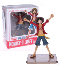 Buy SAINTGI Luffy One Piece New World Two Years Later Luffy Japan Monkey D Zero Dead Alive Lucy Brinquedos PVC Boxed Limit for $13.72 in AliExpress store