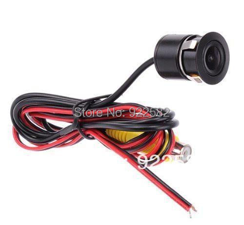 car rear view video parking system/4.3rearview mirror monitor 2CH video + Reverse Camera + Parking Sensor 4/