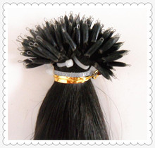 best selling cheap virgin Russian remy nano ring hair extensions 18″ 20″ 22″ keratin hair extensions 1g/pc
