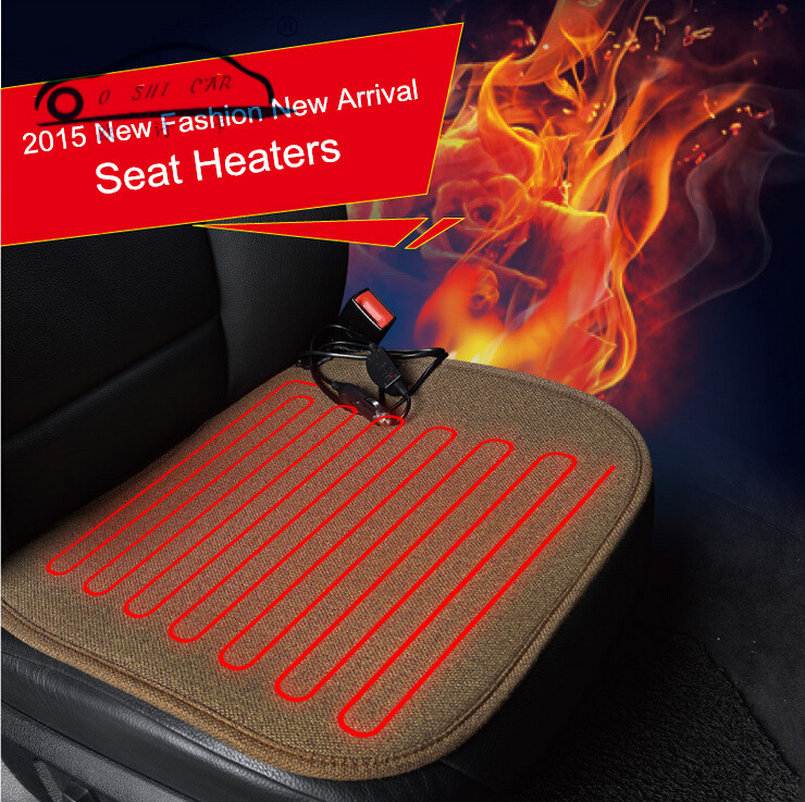 Winter Car Covers Pad Car Seat Cushion Electric Heated Cushion Car Heated Seat Covers Universal(China (Mainland))