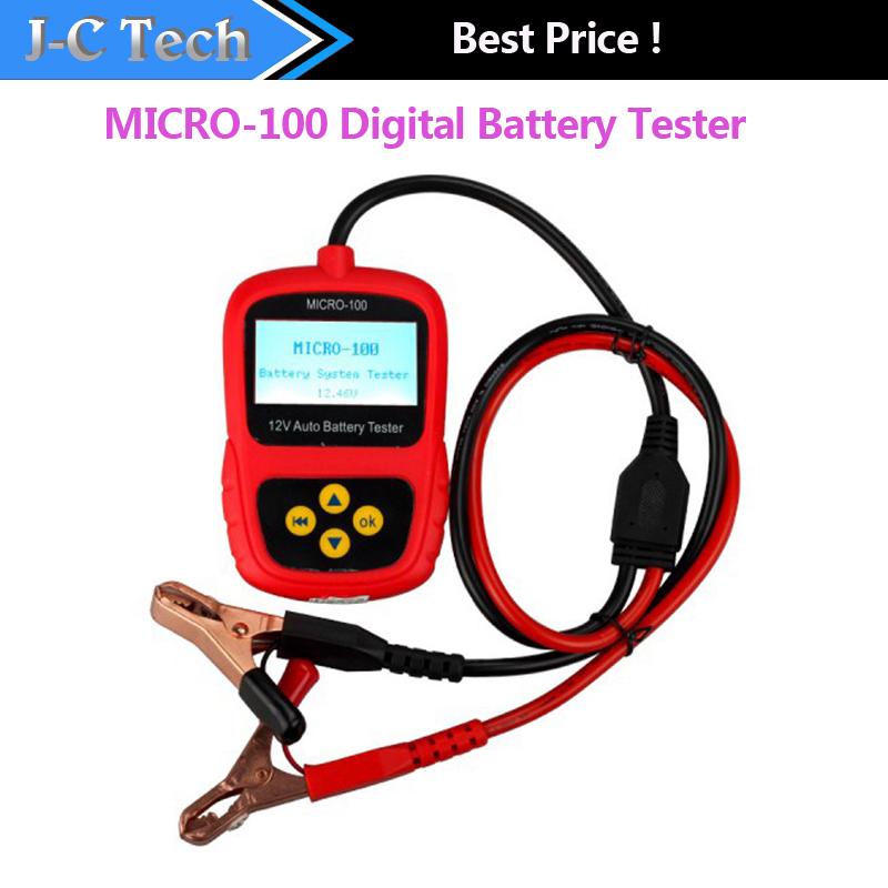 Augocom MICRO-100 цифровой тестер проводимости и электрическая система анализатор 30-100AH