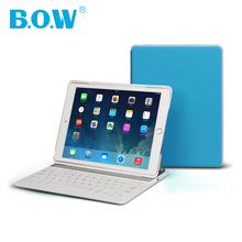 Top Quality Ultrathin PU Leather Wireless Bluetooth Keyboard Stand Smart Cover Case For iPad mini 3 2 1 With Wake-up/Sleep(China (Mainland))