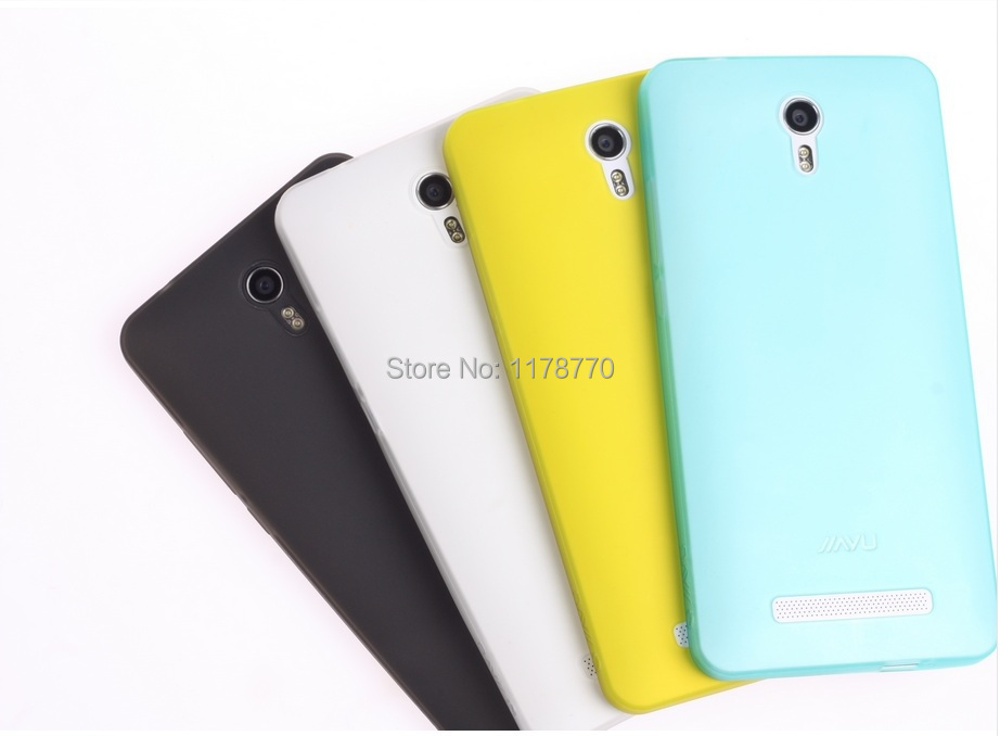 Cheap original Jiayu S3 silicon case cover Jiayu S3 Cell phones protective case soft case free shipping 4 colors in stock(China (Mainland))