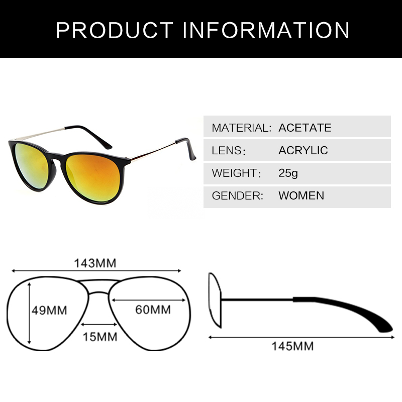 2015 Original Wayfarer Sunglasses Women multi color fashion Cool Oculos Female Brand designer sun glasses Eyewear