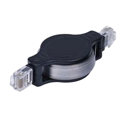 Hot Best Selling New 4.9FT Portable Retractable RJ45 Ethernet Wire LAN Cord Internet Network Cable 5JQY 7BME(China (Mainland))