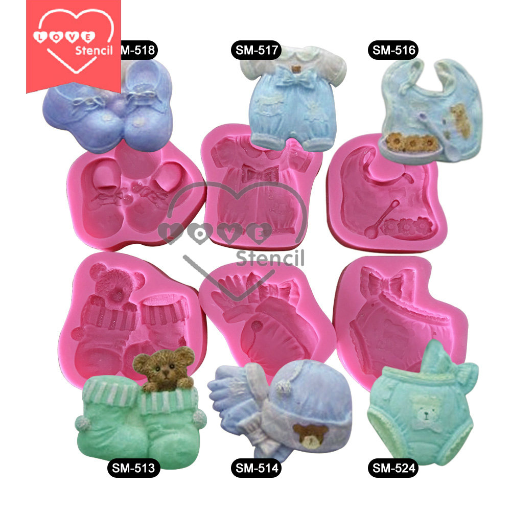 New Arrival DIY 3D Baby Silicone Mold Fondant Silicon Mold Cake Decoration Mold Chocolate Silicone Molds SM-Baby-02(China (Mainland))