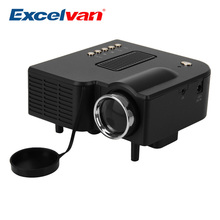 Excelvan UC28 Portable Mini Projector Multimedia Cinema Theater  UC-28 Digital LED Projector  VGA/USB/SD/AV/HDMI Projector(China (Mainland))