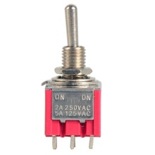 1 Unid 12-Pin Mini Toggle Switch 4PDT 2 Posición ON-ON 2A 250 V/5A 125VAC VE069 P