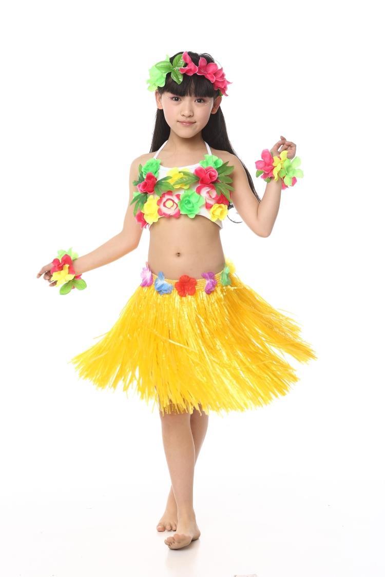 Гавайские костюмы своими руками из подручных материалов