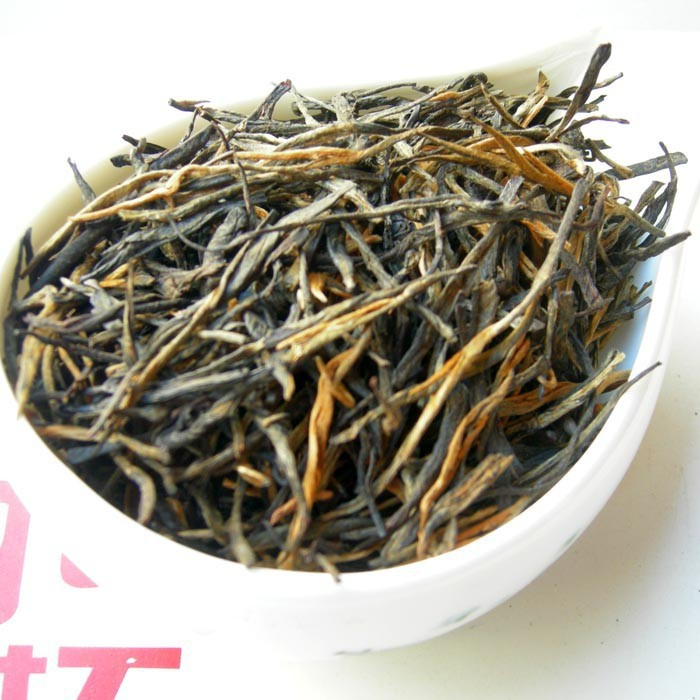 Гаджет  500g  Yunnan Fengqing black tea, wholesale Top grade Dianhong Tea, classic pine needle tea bud,A3CHDF2 None Еда
