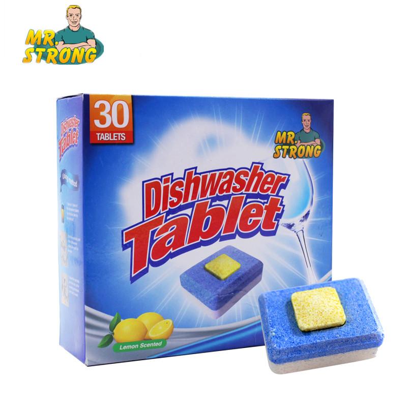 dishwasher tablets in washing machine