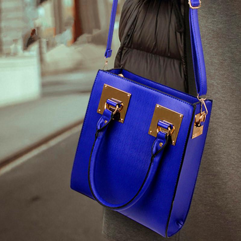 Lady bags handbags fall winter 2015 new tide Europe Shoulder Bag Messenger Bag Handbag Tote Bag B(China (Mainland))