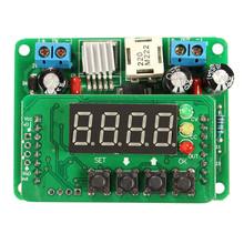 New LED Digital-controlled Constant Current Voltage DC Step-Down Driver Power Module DIY LED Digital Display Module Boards(China (Mainland))