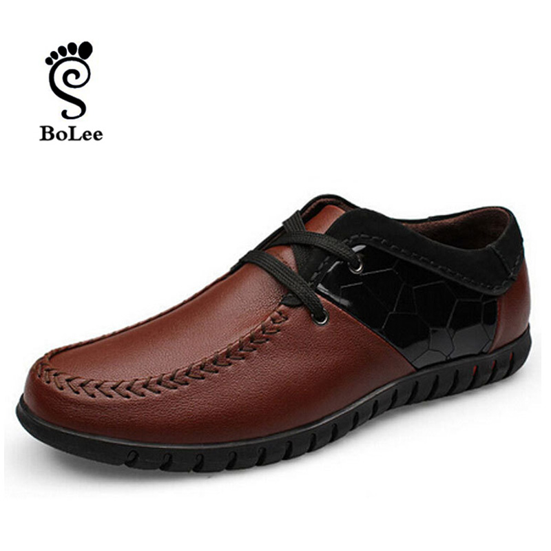 best quality 100 genuine leather shoes fashion style