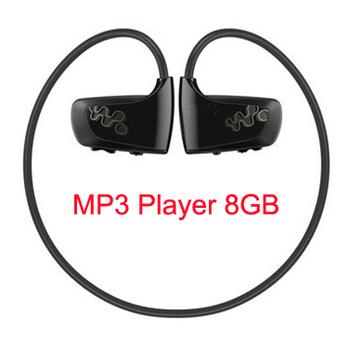 Спорт музыка mp3-плеер 8 ГБ памяти водонепроницаемый MP3 плеер W262 спорта носить MP3 музыкальный плеер для езды на велосипеде, кроссовки, на открытом воздухе