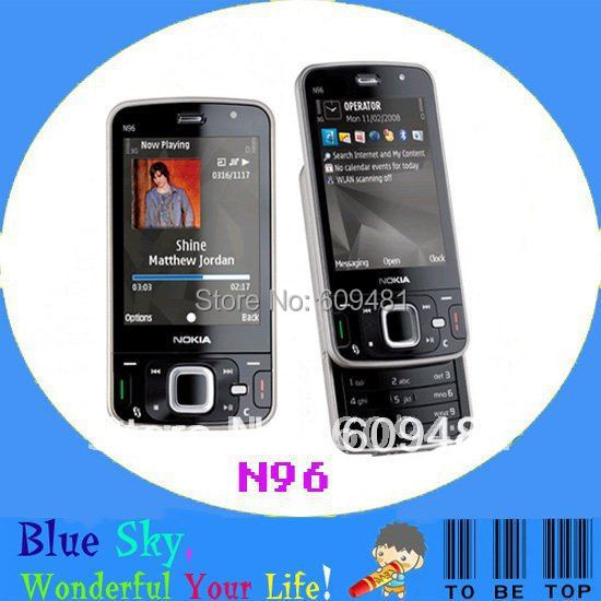 Russian keyboard phone N96 Original Nokia phone Quad band GSM Unlocked Free shipping(China (Mainland))