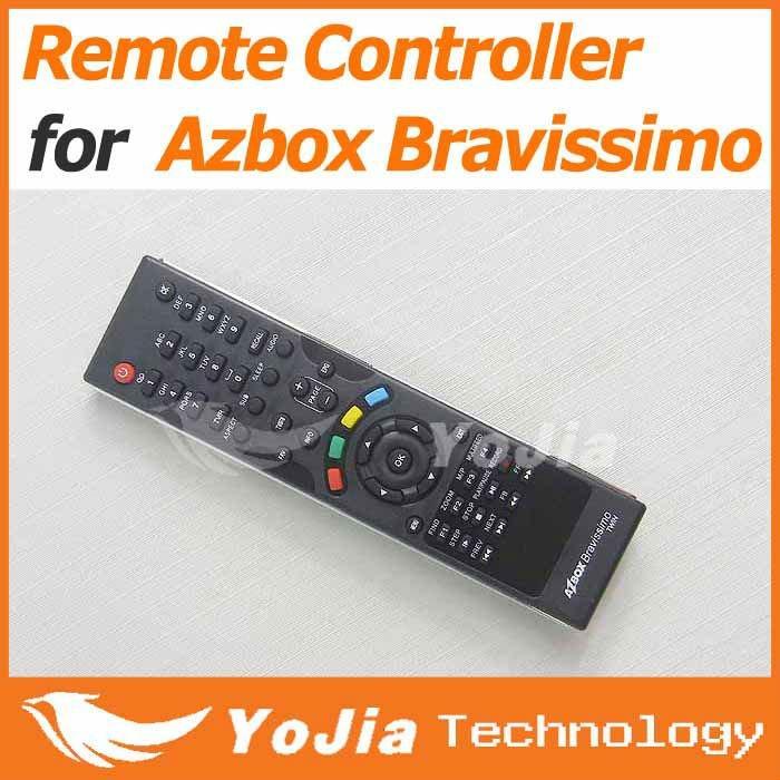 5pcs Remote Control for AZbox Bravissimo satellite receiver RC remote controller bravissimo free shipping post(China (Mainland))