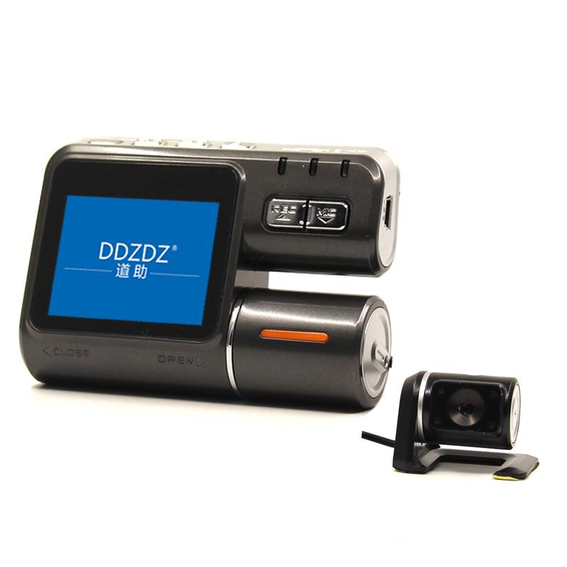 Dual Lens Car DVR Camera Recorder i1000 Dash Cam Black Box Full HD 1080P 170 Degree 30FPS with Rear View DashCam Camcorder(China (Mainland))