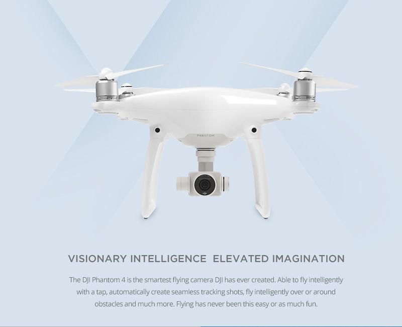 Original DJI Phantom 4 With 4K Camera RC Quadcopter RTF DJI RC Drone with Camera