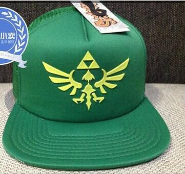 Free DHL/EMS/UPS/Fedex 25pcs/lot Hot Sale The Legend of Zelda Baseball Caps Sunscreen Outside Travel Active Hat casquette(China (Mainland))