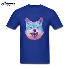 Buy Youth Tshirt Funny Rainbow Wolf T Shirt Men Boy Short Sleeve 100% Cotton Fun Tee Shirt Man Plus Size T-Shirt Tops Adult Clothing for $12.54 in AliExpress store