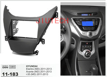 11-183 dash Two din Car Radio fascia fo Elantra MD Avante 2010-2013 Stereo Facia Frame - ACECAR ELECTRONIC Co. Ltd. Store store