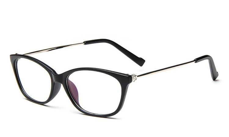 2016 Brand Design Diamond Spectacle Frame Women Eyeglasses Frames Women Computer Reading Optical clear lens Frame Eye Glasses (15)
